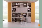 libreria con scrittoio