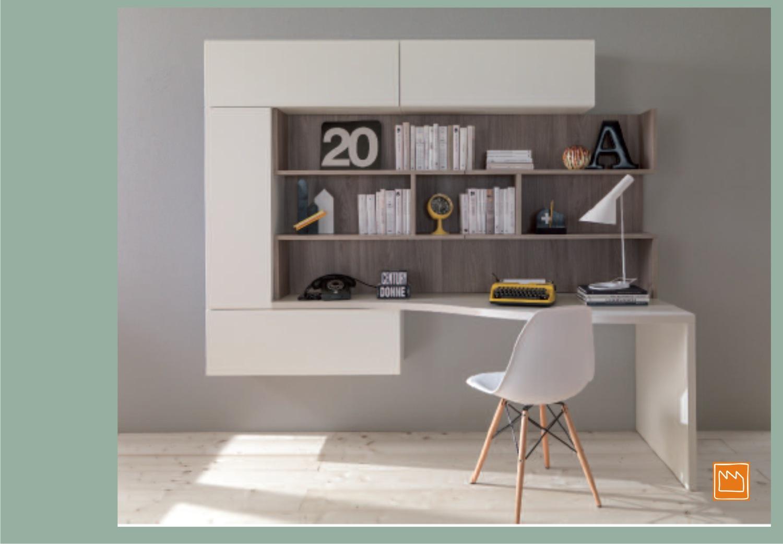 Scrivanie singole per la cameretta for Consolle scrivania moderna