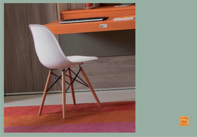 Sedie per camerette moderne for Sedia design scrivania