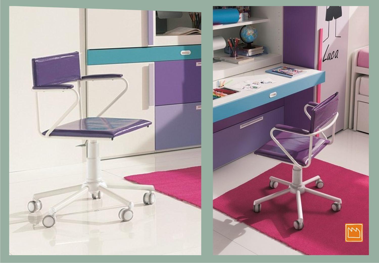 Sedie per camerette moderne for Sedie scrivania economiche