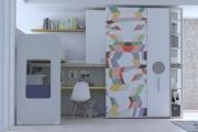 Il castelponte con zona studio semplice