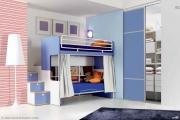 camerette per ragazzi colore blu