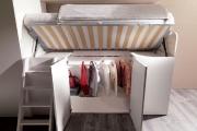 cabina armadio letto