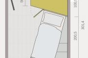 Dimensioni castello 15 angolare