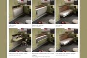 Sequenza apertura letto a vagone