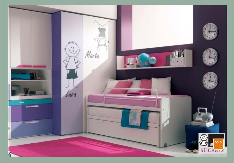 Stickers adesivi murali per decorare camerette da bambini - Adesivi murali ikea ...