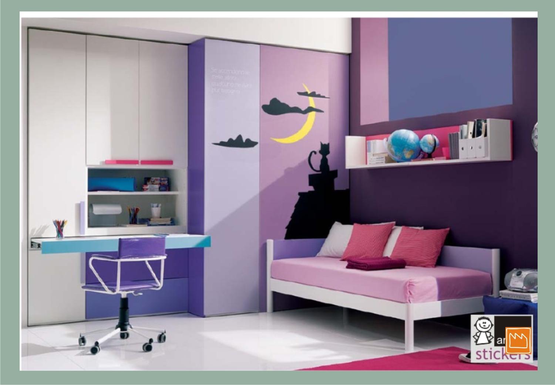 Stickers adesivi murali per decorare camerette da bambini - Stickers camerette neonati ...