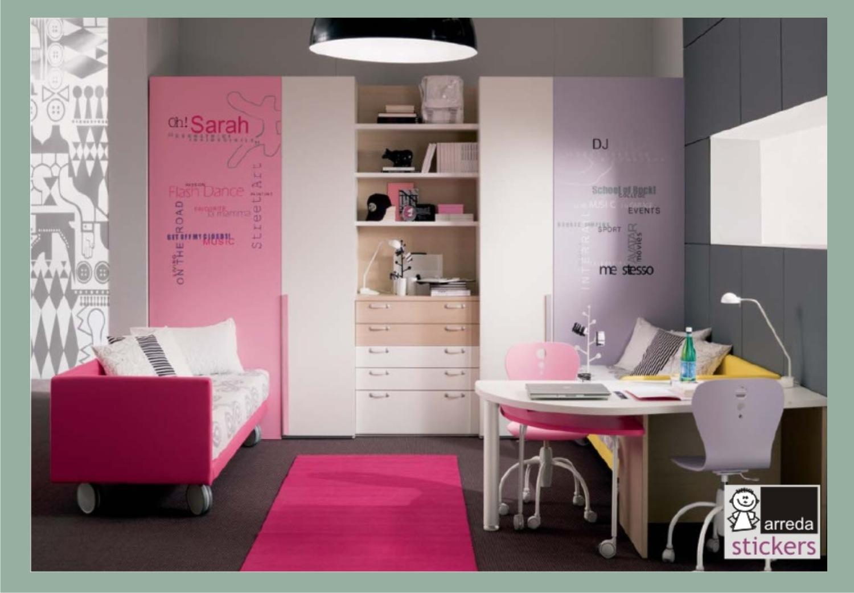 Adesivi camerette neonati decorazioni pareti camerette - Adesivi per pareti camerette ...