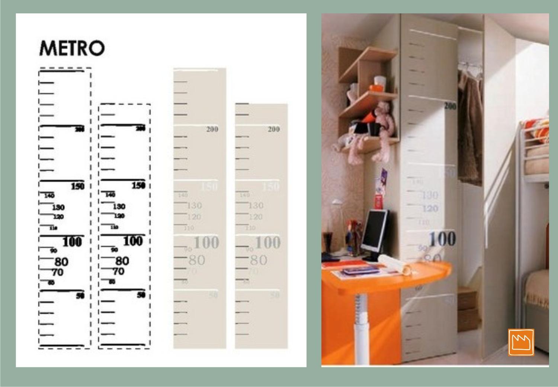 Stickers Per Ante Armadio.Stickers Adesivi Murali Per Decorare Camerette Da Bambini