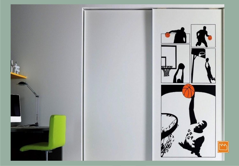 Stickers adesivi murali per decorare camerette da bambini - Stickers bambini ikea ...