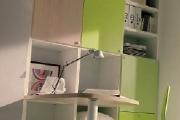 zona studio libreria a terra