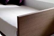 letto divano in legno laminato