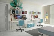 scrivania doppia