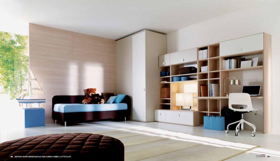 Arredare Camera Con Divano Letto : Cameretta con divano letto tessile