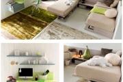 camerette colore verde
