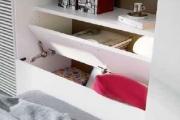 contenitore retro letto cameretta