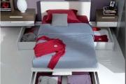 letto moderno contenitore grande