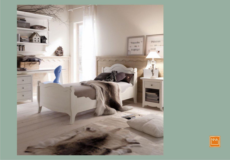 Arredare camera stile country - Arredamento country camera da letto ...