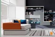 letto moderno con cassetto