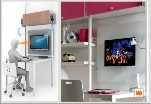 Sistema di montanti free moderni for Piani di studio 300 piedi quadrati