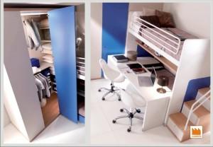 cabina armadio per bambini