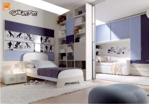 Dividere e unire camerette senza limiti - Dividere una camera in due ...