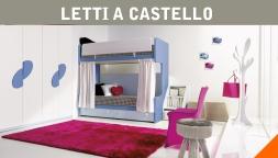 Letto A Castello Milano.Camerette A Soppalco E Letti A Castello