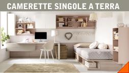 Letti A Terra Camerette Moderne