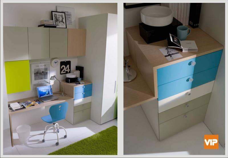 Fabbrica camerette progettare la zona studio in cameretta for Progettare la cameretta