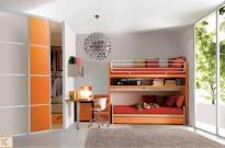 Cameretta geniale arancione