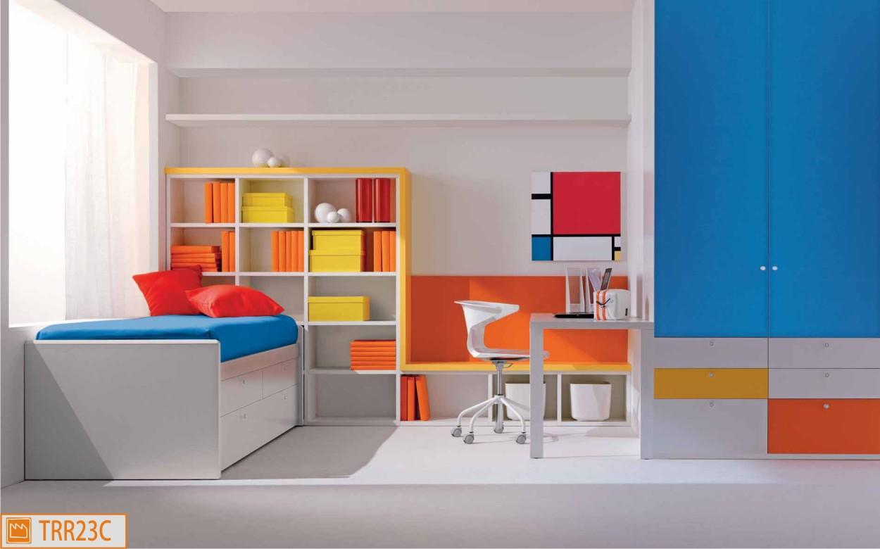 Cameretta dal design geometrico - Foto camerette per ragazzi ...