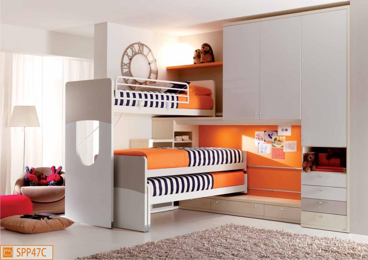 Camerette dalla fabbrica: camere per ragazzi e per bambini