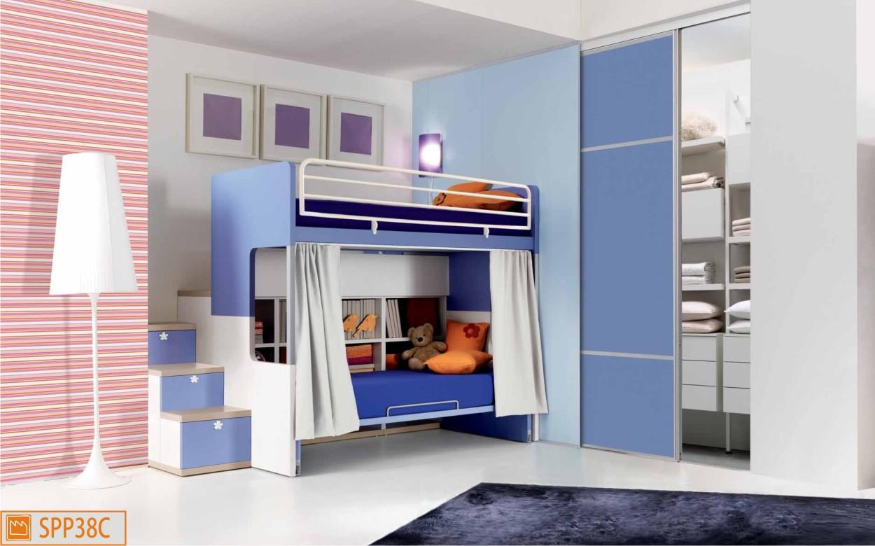 letti a castello - camerette moderne per ragazzi