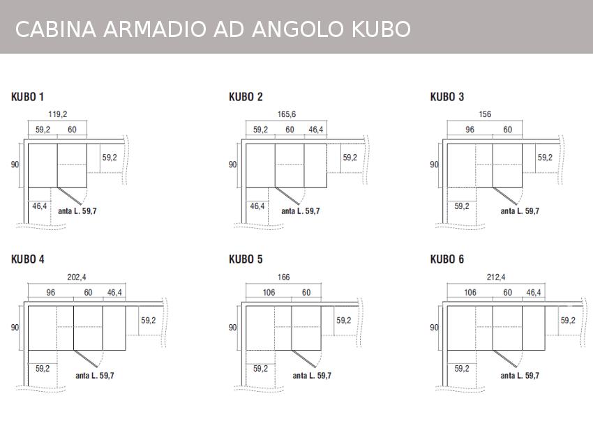 Stunning Cabina Armadio Misure Pictures - Idee Arredamento Casa ...