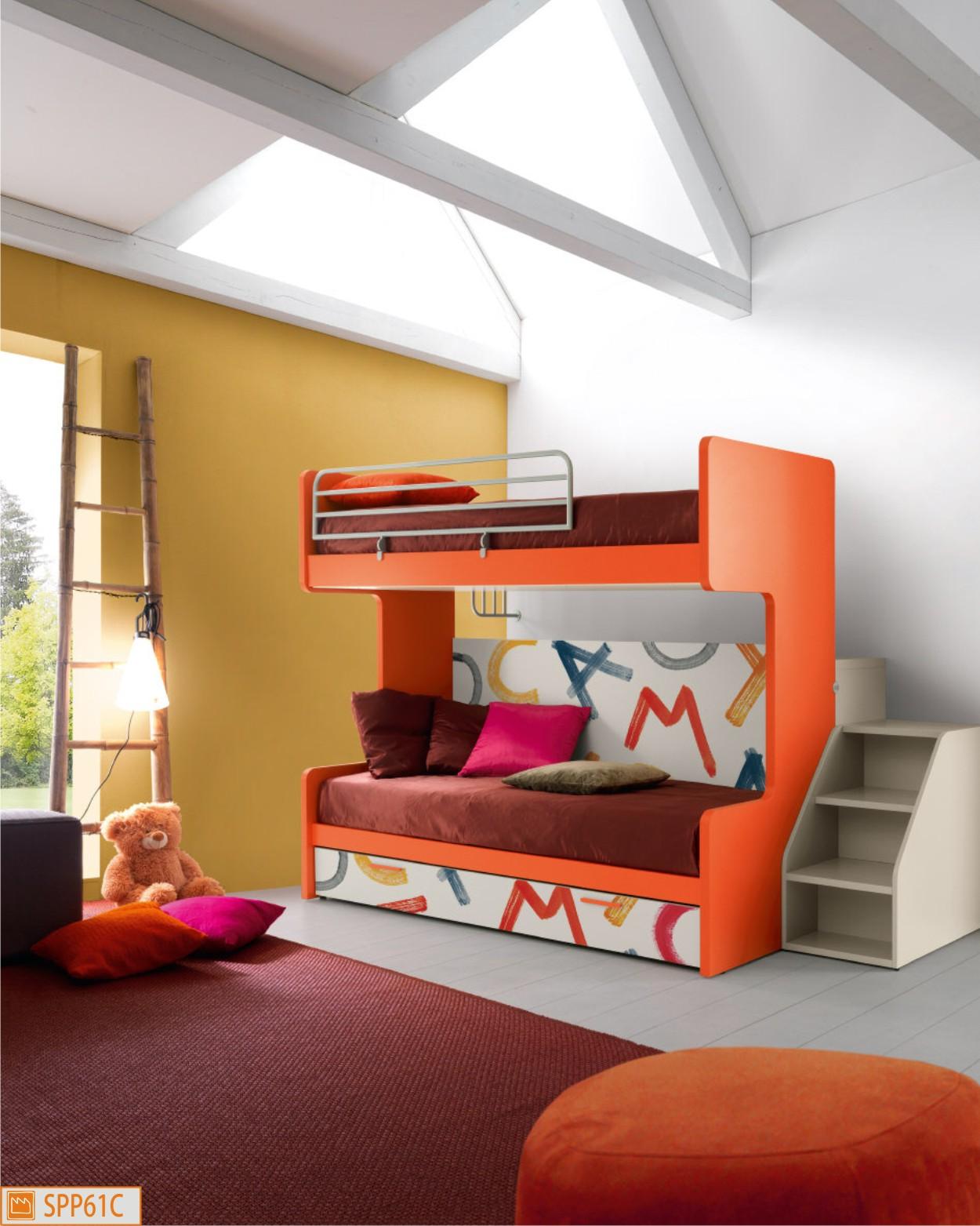 Letti a castello   camerette moderne per ragazzi