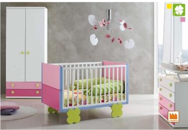cameretta per neonati quadrifoglio