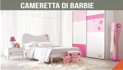 la cameretta romantica di barbie