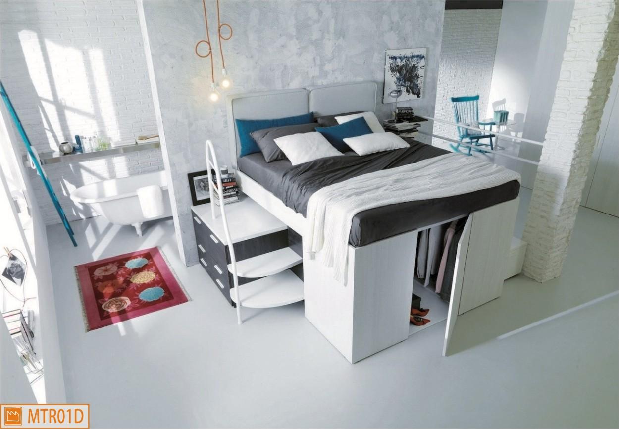 letto container matrimoniale