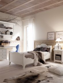 Come arredare camerette country e shabby