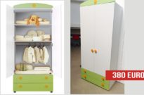 Armadio prima infanzia Winnie The Pooh in outlet