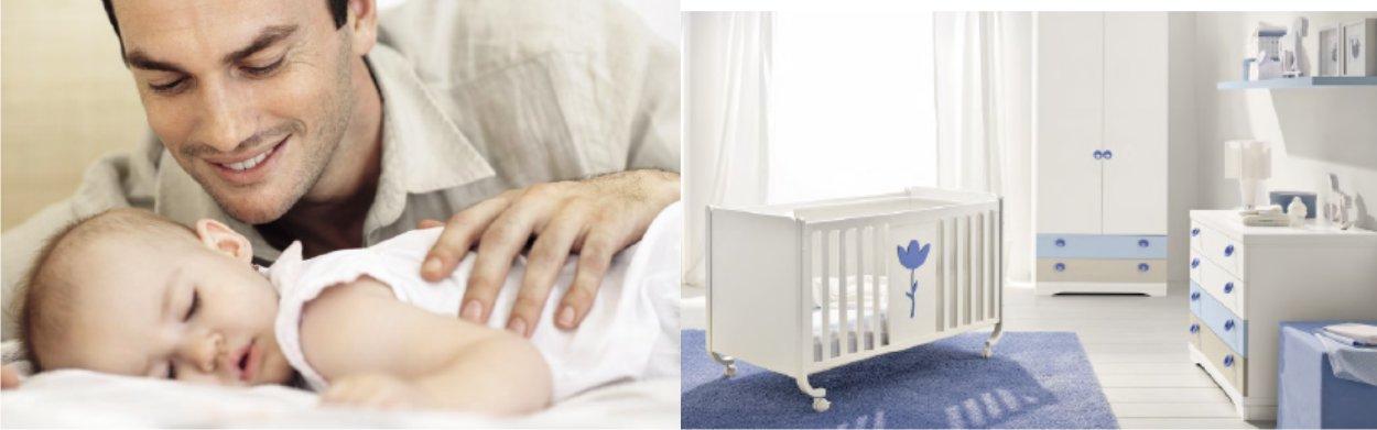 una cameretta per neonati sana