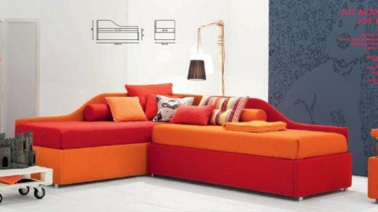 angolo con letti a divano