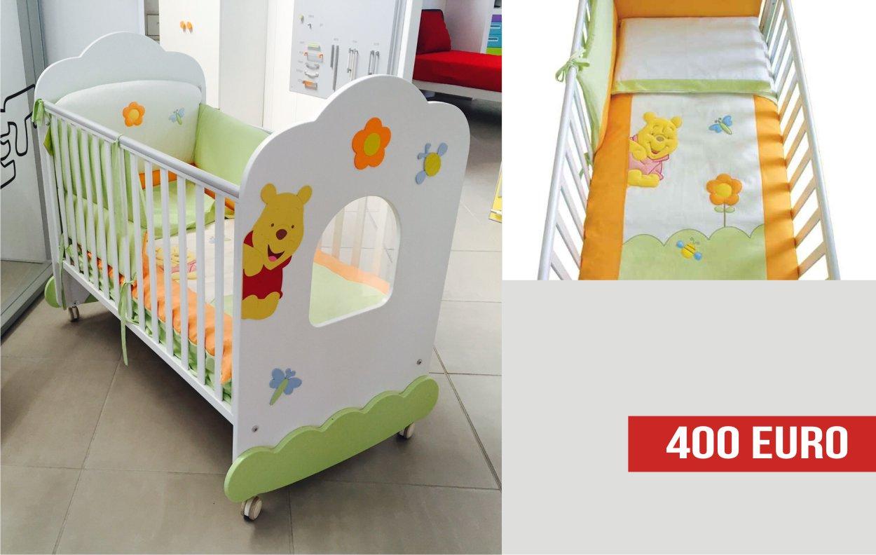Il lettino da neonati di Winnie The Pooh: offerte outlet