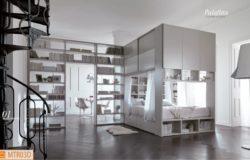 Camera Palafitta: il moderno baldacchino che contiene