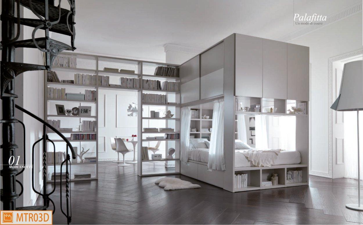 Camera matrimoniale palafitta moderno baldacchino - Ikea letto a baldacchino ...