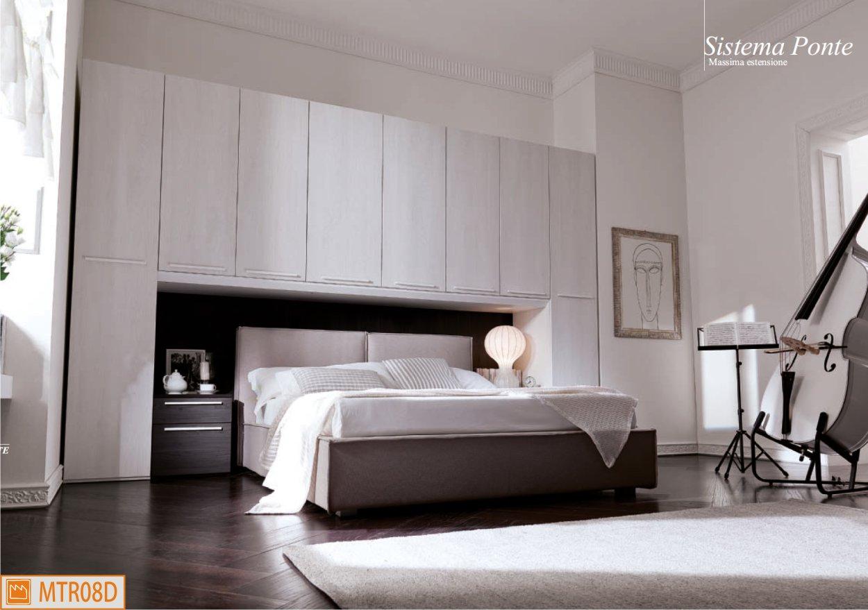 Camera a ponte xl con letto matrimoniale contenitore - Camere da letto con letto contenitore ...