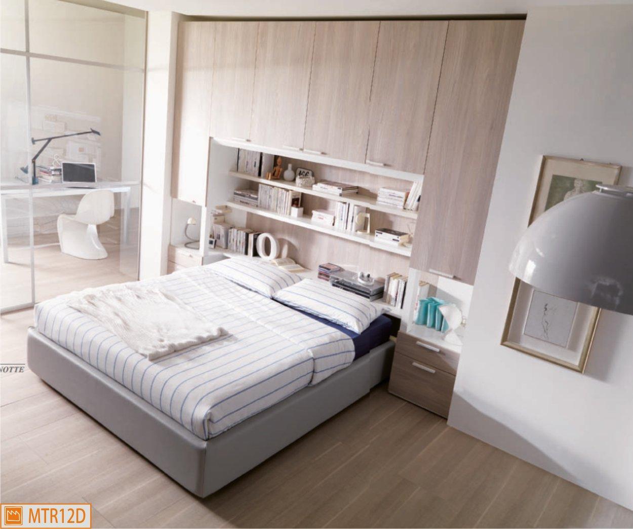 Camera a ponte con letto sommier - Camere da letto in cartongesso ...