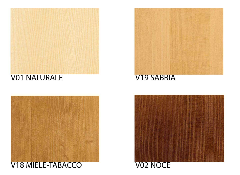 Colori e finiture mobili in legno massello scandola - Colori mobili legno ...