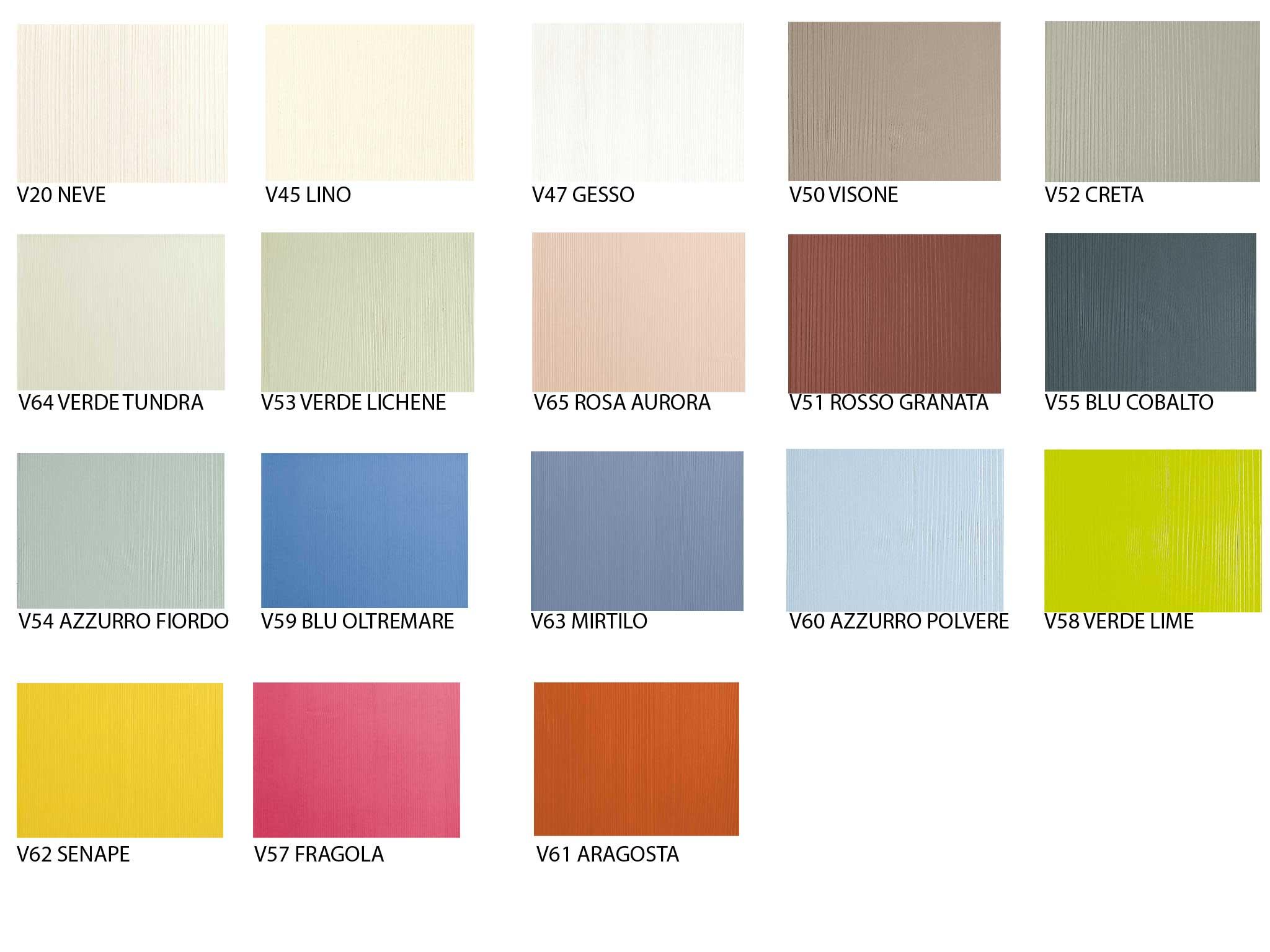 colori per camerette in legno