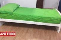Letto singolo bianco in offerta outlet